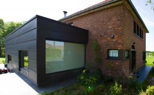 Projecten tube architecten gent - Stenen huis uitbreiding ...